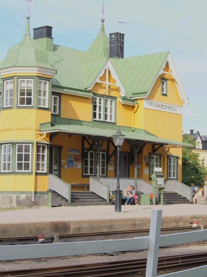 〈SL〉Mariefred Museijärnväg station