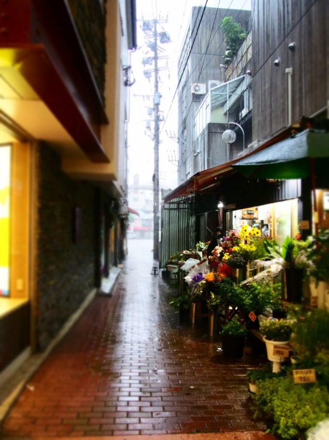 商店街の路地
