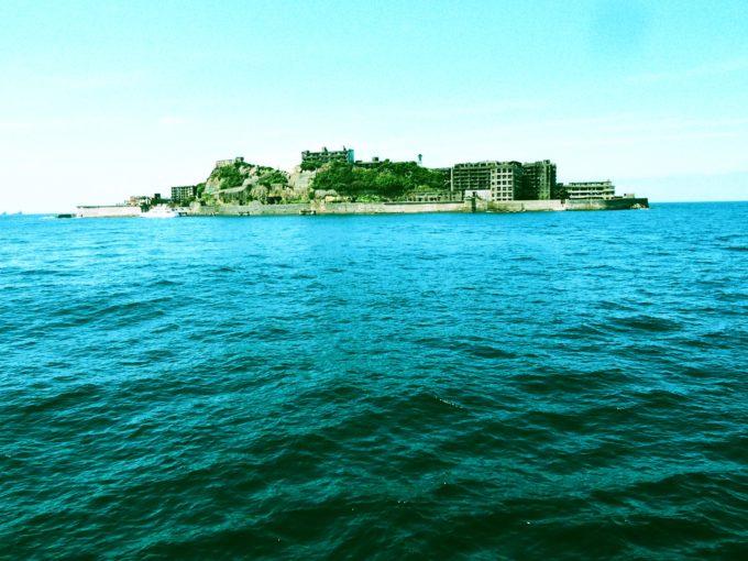 軍艦島東面