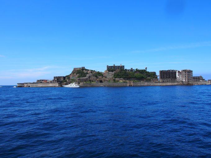 軍艦島東側