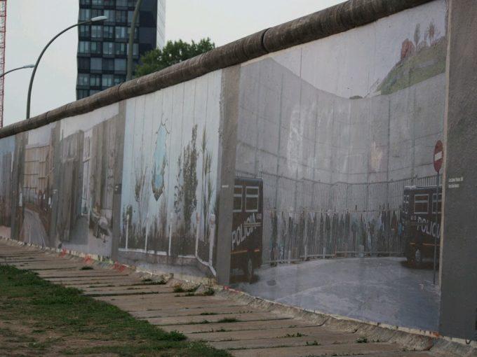 ベルリンの壁南面