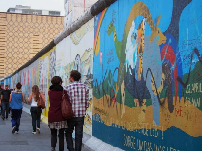 ベルリンの壁北面