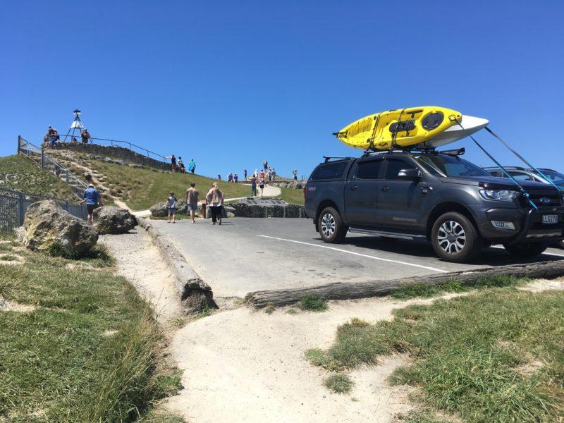 Te Mata Peak頂上