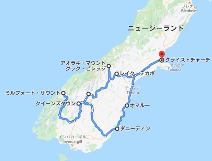 南島一周ルート